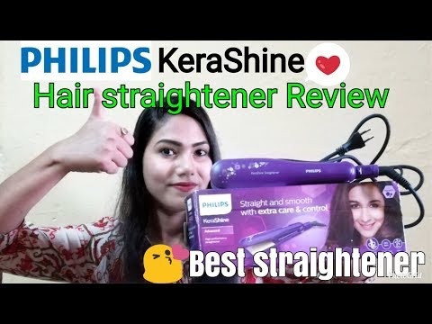 Philips kerashine advanced hair straightener Review with Demo|FabRose