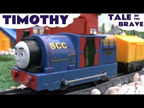 Thomas and Friends TIMOTHY Tale Of The Brave Film DVD Trackmaster Thomas The Tank Engine Toy Train