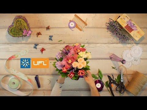 🌸Подарить очаровательный букет МИКС от флориста | U-F-L.net