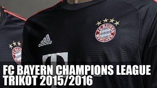 FC Bayern Champions League Trikot 2015 16