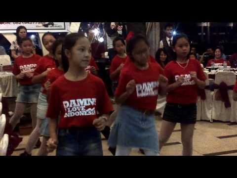 SD 4 Tondano Dancing Wisata Bahari