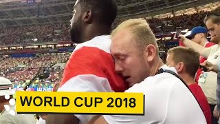 England Fans React to Crashing Out of World Cup 😢😢😢