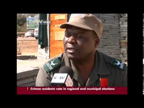 South Africa honors rangers for rhino protection