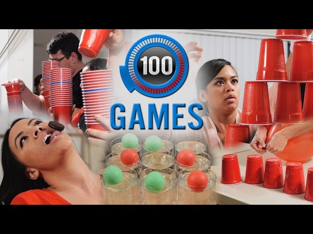 Minute to Win It Games 100 Party Games Ultimate Party Game List