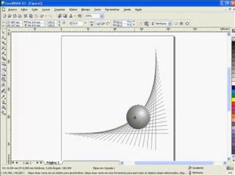 Herox - corel draw - efeito 3D