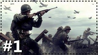 İNSANLIĞIN YOK OLDUĞU SAVAŞ | Call of Duty : WWII #1