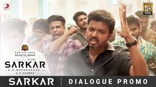 Sarkar Oru Viral Puratchi Dialogue Promo Thalapathy Vijay A R Rahman A R Murugadoss