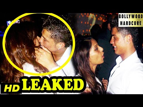 OMG! Bipasha Basu Kissing Cristiano Ronaldo In Public - Pictures Leaked