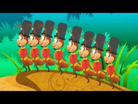 The Ants Go Marching Kids Tv Nursery Rhymes S01EP108