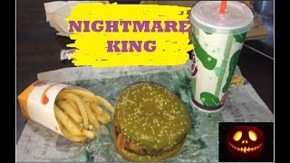 Burger King, Nightmare King Taste Test: Will it give me nightmares?