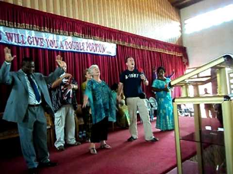 EMI at Pastor's Harry Church (AG North Kaneshie) Accra, Ghana 9