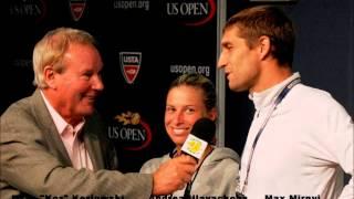 The Koz Interviews US Open Mixed Doubles Champions Max Mirnyi and Andrea Hlavackova