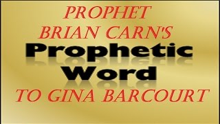 "My Prophetic Word From Prophet Brian Carn About  ""A Bar In The Court"" 1/18/2015 Atlanta, GA"