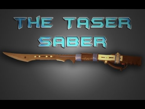 Tazer Saber: Raiden's Sword!