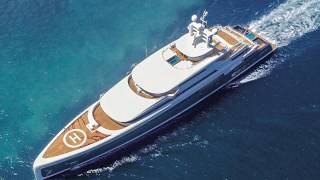M/Y ILLUSION PLUS 88,5m  Yacht  by Pride Mega Yachts at  Monaco Yacht show 2018
