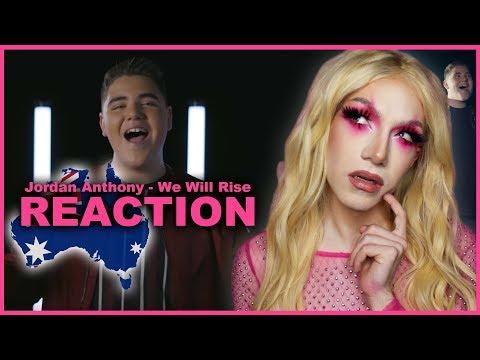 AUSTRALIA - Jordan Anthony - We Will Rise | Junior Eurovision 2019 REACTION