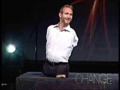 Nick Vujicic - Fully living for Jesus Christ (Part 1 of 4)