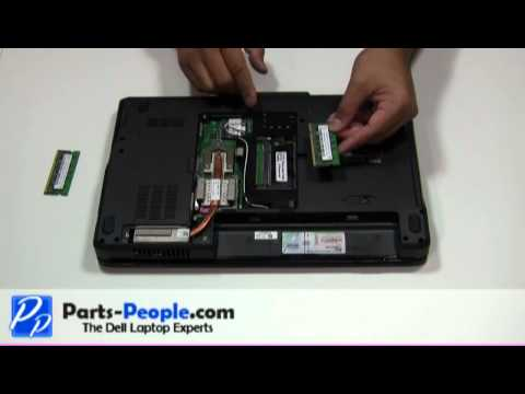 Dell Inspiron 1545   Memory Stick Replacement   How-To-Tutorial