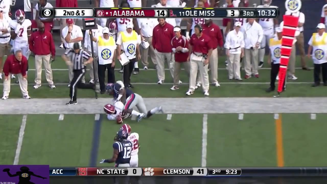 Blake Sims vs Ole Miss (2014)