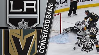 04/13/18 First Round, Gm2: Kings @ Golden Knights