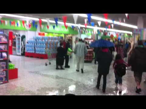asda in bournemouth town centre flooding part 1.MOV