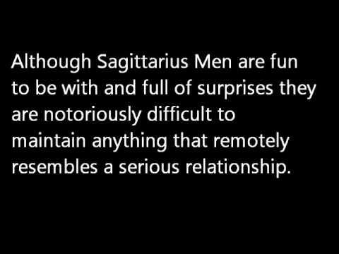sagittarius men and dating