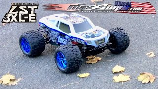LOSI 1/8 LST 3XL-E MEETS MAXAMPS-FIRST RUN