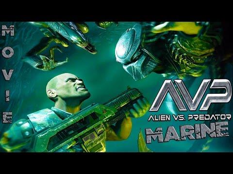 Aliens vs Predator 3 - Historia Marine ( La pelicula Full español ) HD 720p ᴴᴰ ( Movie Game )