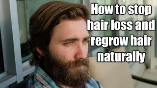 How to stop hair loss and regrow hair naturally | home remedies