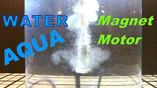 Magnet Motor Under Water!