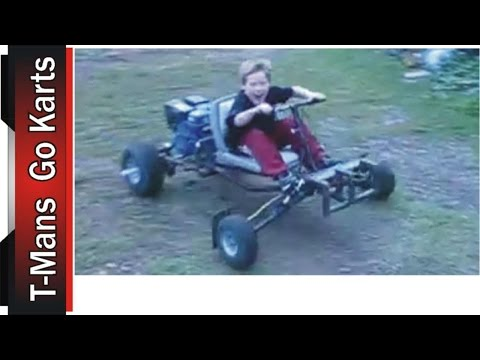 First Test Drive of the Go Kart