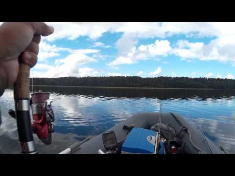 рыбалка с лодки на щуку и окуня