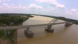 Aerial jembatan aurduri 2 jambi