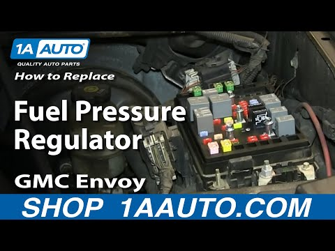 How To Install Replace Fuel Pressure Regulator 5.3L 2003-04 GMC Envoy XL Chevy t