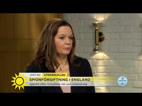 Utrikeskollen om förgiftningen: Pubgäster uppmanas att tvätta sina kläder - Nyhetsmorgon (TV4)