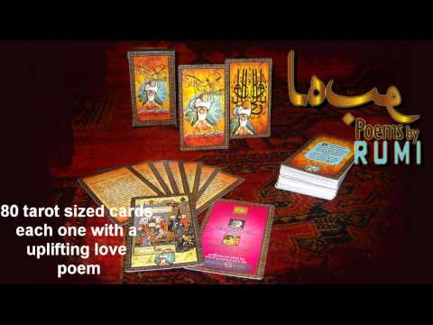 Love Poems by RUMI - Card Deck Product Trailer