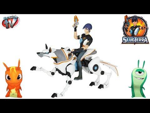 SlugTerra: Eli & Lucky Mecha Beast Figure Set Toy Review, Jakks Pacific
