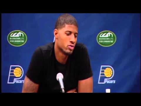 Paul George FULL Press Conference (First Since Injury)