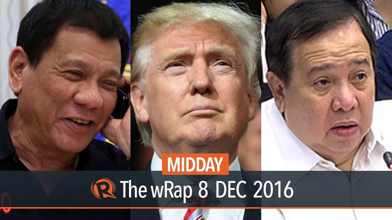 Senate report, Duterte on Trump, Time magazine | Midday wRap