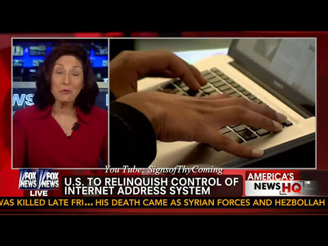 Mark of the Beast : Obama to transfer control of the Internet to the Global Community (Mar 15, 2014)