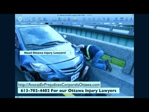 Ottawa Injury Lawyers ~ Personal Injury Lawyers in Ottawa