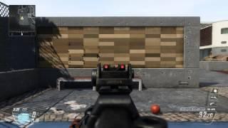 Skorpion EVO complete recoil test