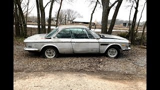Project BMW E9 Revival: First Steps