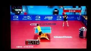 Xu Xin vs Ma Long/wonderful point(inanılmaz birsayı)