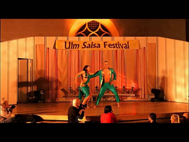 Ulm Salsa Festival 2013: Riccardo & Kateryna - Universo Salsero Dance Company