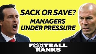 Sack or Save Europe's Under-Fire Managers  | B/R Football Ranks Podcast