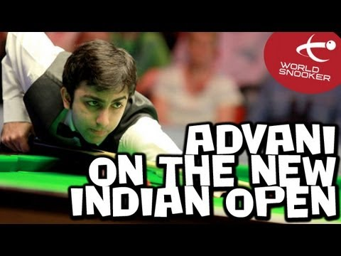 Pankaj Advani talks to World Snooker about the new Indian Open event