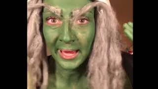 Grinch makeup tutorial after edibles