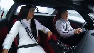 Miss Universe на трассе Moscow Raceway