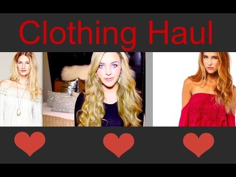 Clothing Haul! Free People, Tobi & More!